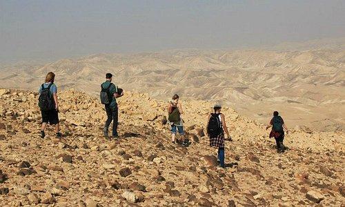 Hiking through the Judean Desert