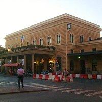 修復された駅