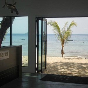 Beach View from our Dive Centre