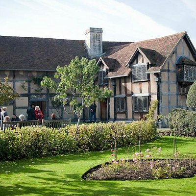 The garden of Shakespeare's Birthplace