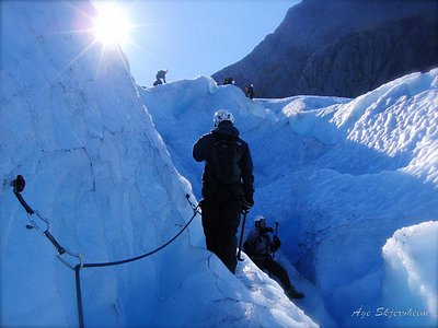 Glacier hike on Svartisen