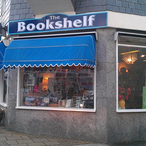 Cafe and bookshop.