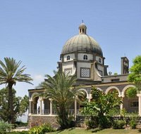 The church of Mount of Beatitudes Galilee