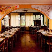 La prima sala del ristorante
