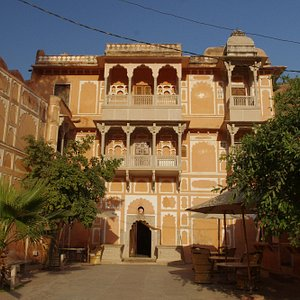 The Anokhi Museum is situated in a beautiful restored building.