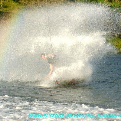 Rainbow over Lake Arenal