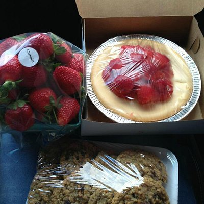 my strawberries and pies