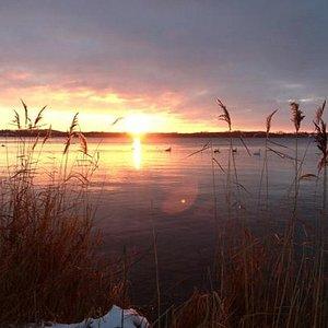 Südwestlicher Teil des Großen Plöner See- Januar 2013