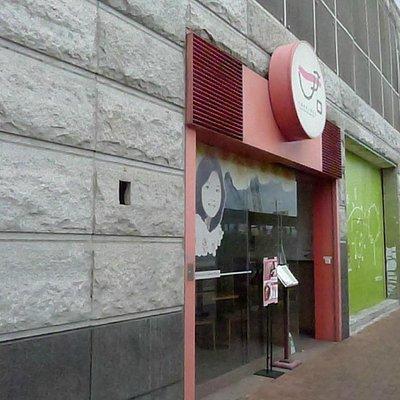 Teresa New Life Coffee Shop - entrance