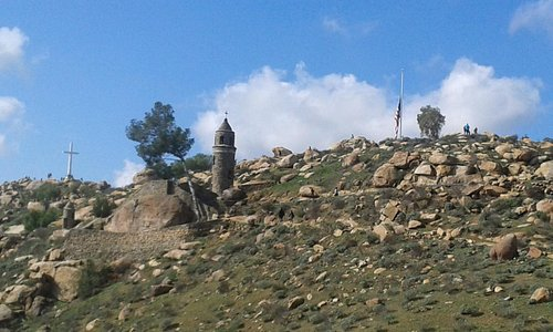 View of the top of Rubidoux