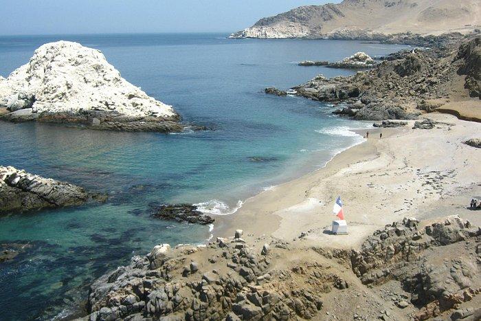 Playa Blanca - lugar del desembarco