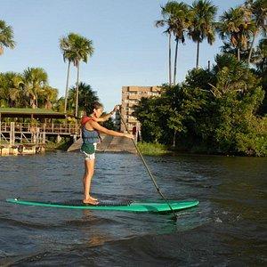 Stand up Paddle no Rio Preguiças Barreirinhas