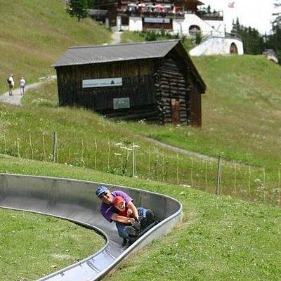 Sommer-Schlittelbahn Schatzalp
