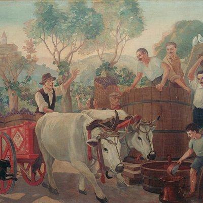 P. Conti, La vendemmia (1930 ca)