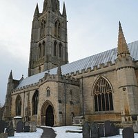 Part of St Wulfram's church
