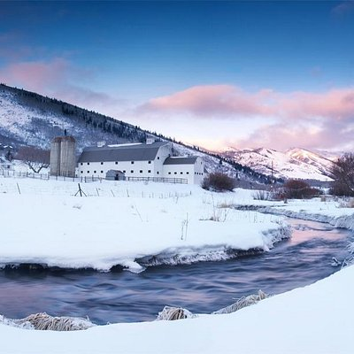 McPolin Barn In Winter Copyright 2013 McMillen Fine Art