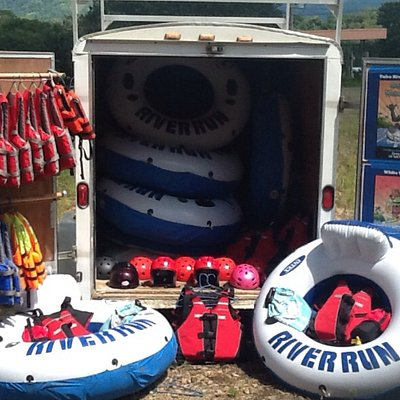 NEW RAFTING AND TUBING EQUIPMENT 2013