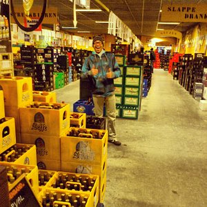 Beer shopping