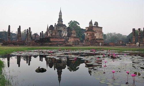 View at Wat Mahamat
