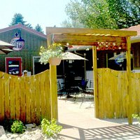 Spearfish Creek Wine Bar front patio