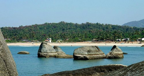 Agonda beach from the South