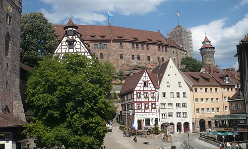 View to castlefrom Durer's window