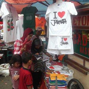 Street bazaar