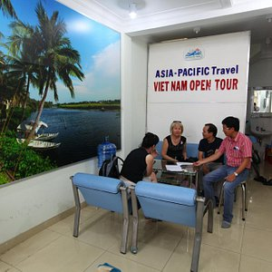 Asia Pacific Travel office in Hochiminh city