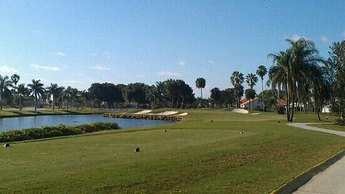 The course is in gorgeous shape!