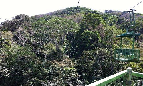 Vue de la colline au départ du tram