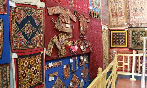 Cloths of Kutch a handicraft specimens