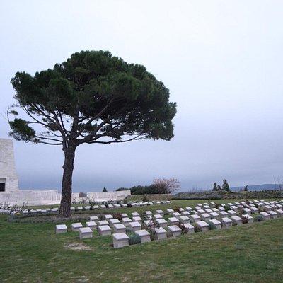 The vaunted lone pine hill memorial