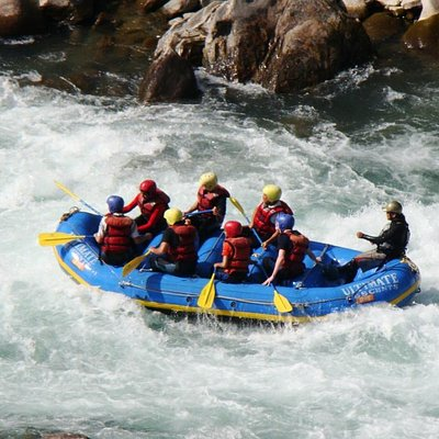 Rafting at its best