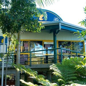 Front view of Lismore Visitor Information Centre.