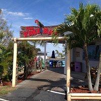Entrance to Tiki Bar
