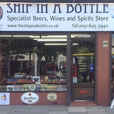 The Ship in a Bottle, West Kirby.