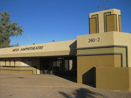 Mesa Amphitheatre-front entrance