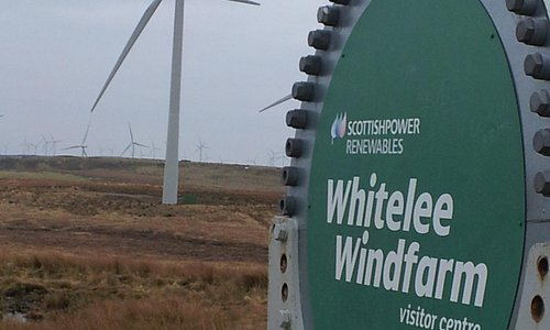Wind-farm in action