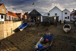 The Fisheries Heritage Centre at top of Fishermen's Slope Sheringham