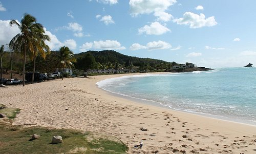 Hawksbill Bay beach