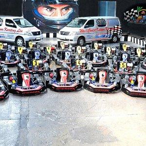 amazing fleet of karts!
