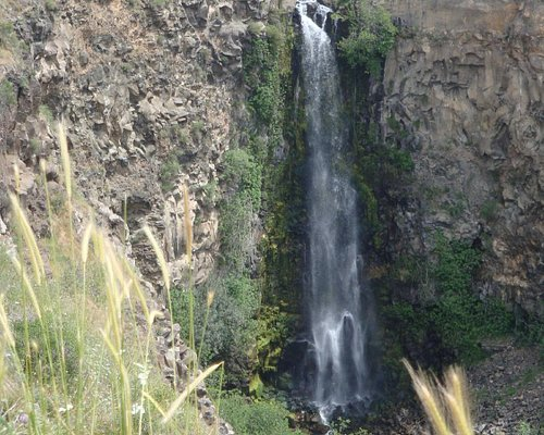 The highest waterfall in Israel
