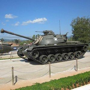 Amerikansk stridsvagn som används i Vietnamkriget