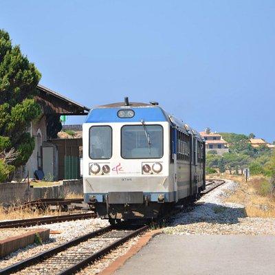 """Le train de Balagne alias """"La Micheline"""""""