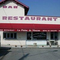 Le restaurant vu de l'extérieur