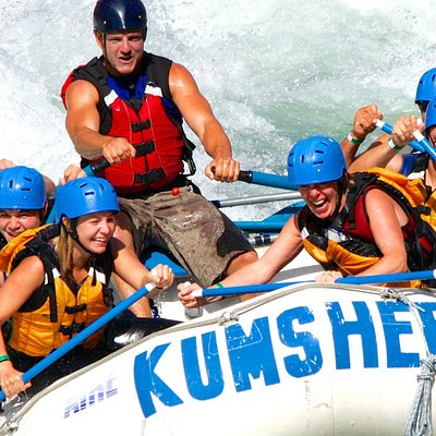Rafting the Thompson river with Kumsheen!
