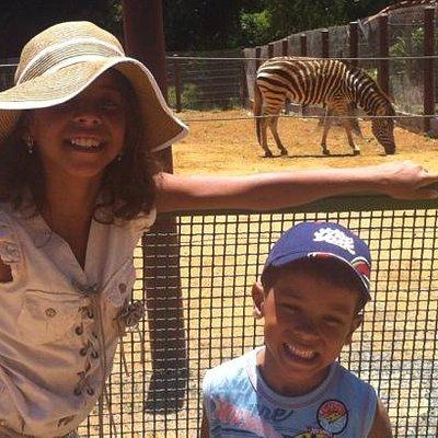 Área das Zebras.