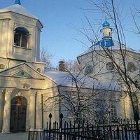 Храм Казанской Иконы Божьей Матери на Казанском Кладбище.