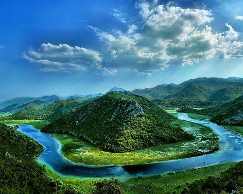 shkodra - skutari lake view from montenegro