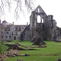 Wenlock Priory.